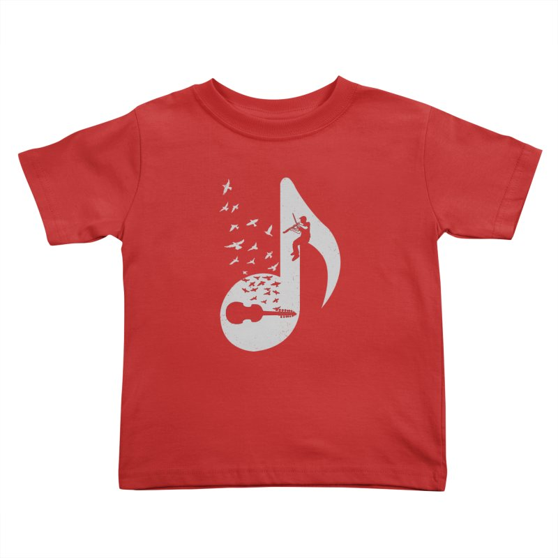 Musical note - Viola Damore Kids Toddler T-Shirt by barmalisiRTB