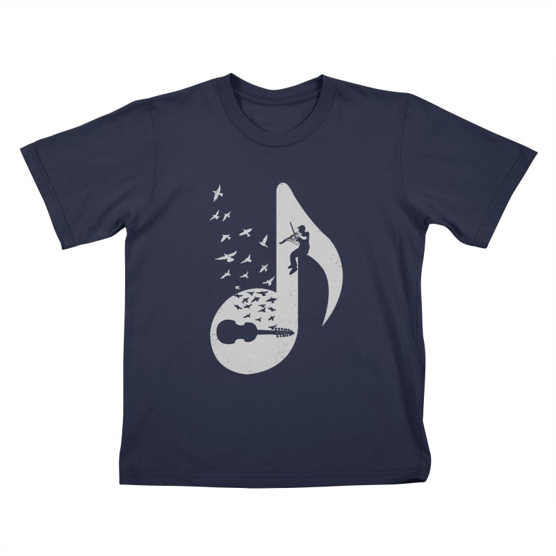 Musical note - Viola Damore Kids T-Shirt by barmalisiRTB