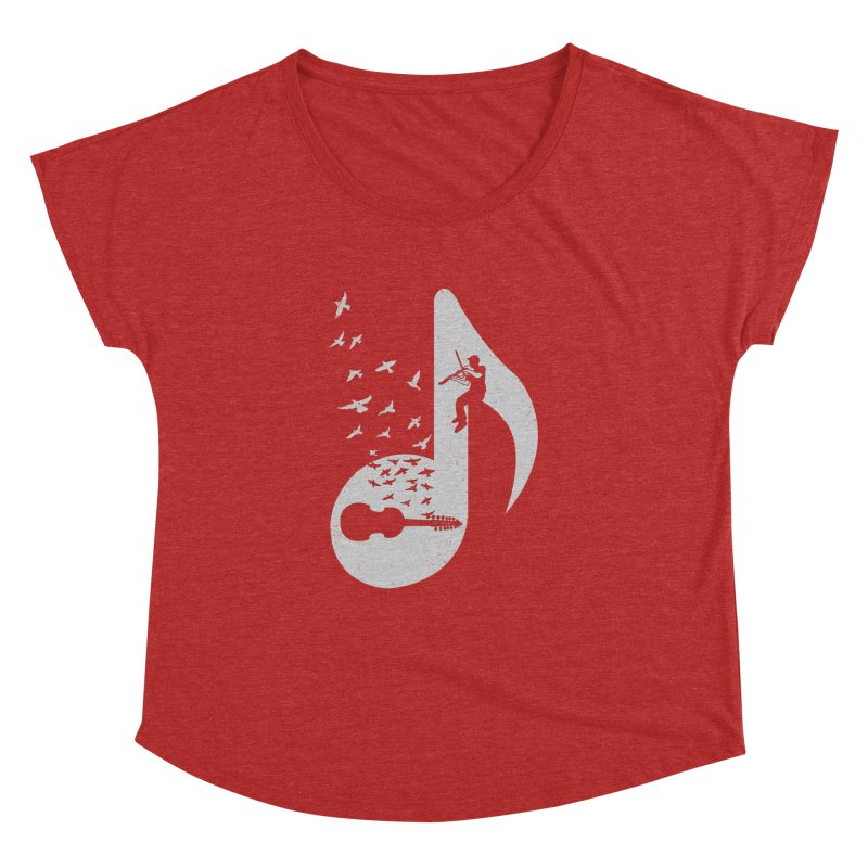 Musical note - Viola Damore Women's  by barmalisiRTB