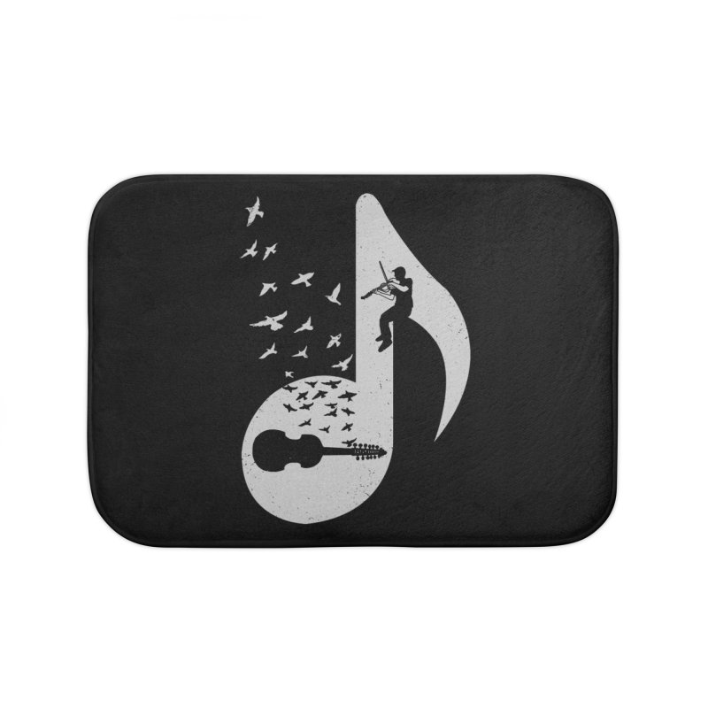 Musical note - Viola Damore Home Bath Mat by barmalisiRTB