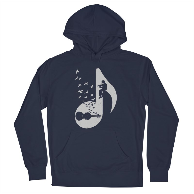 Musical note - Violin Men's Pullover Hoody by barmalisiRTB