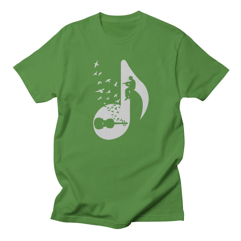 Musical note - Violin Men's Regular T-Shirt by barmalisiRTB