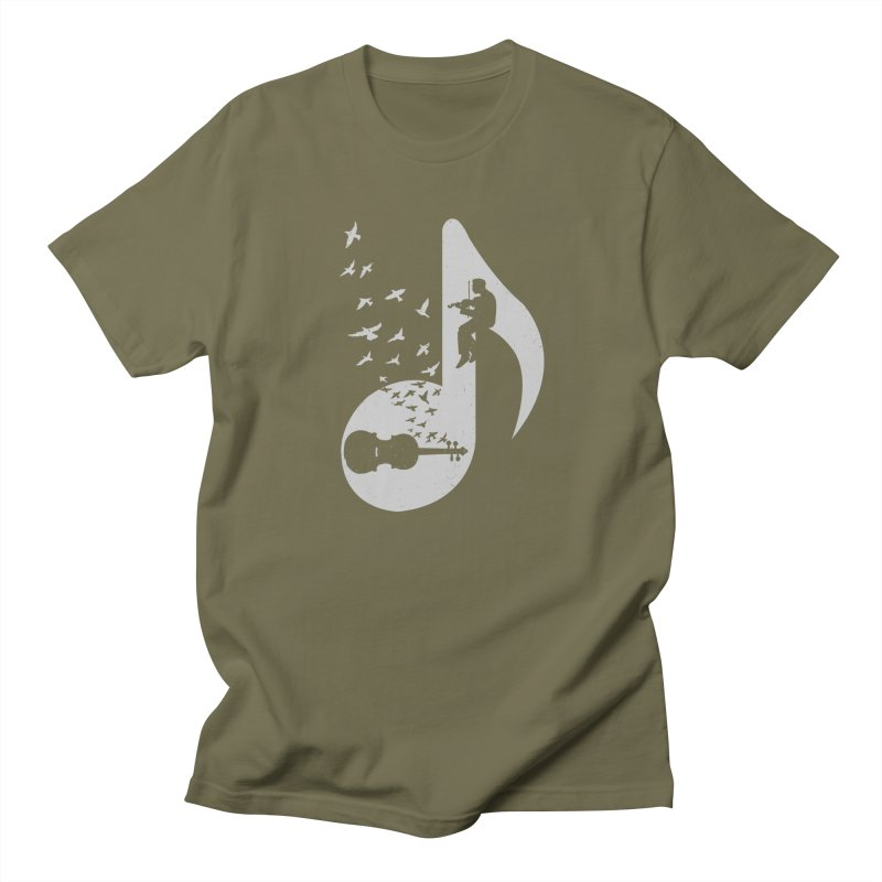 Musical note - Violin Women's Unisex T-Shirt by barmalisiRTB