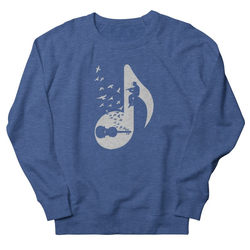 Musical note - Violin Men's Sweatshirt by barmalisiRTB