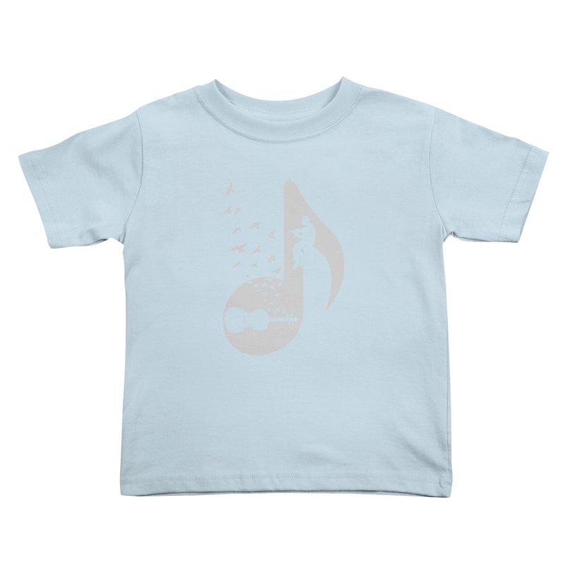 Musical note - Violin Kids Toddler T-Shirt by barmalisiRTB