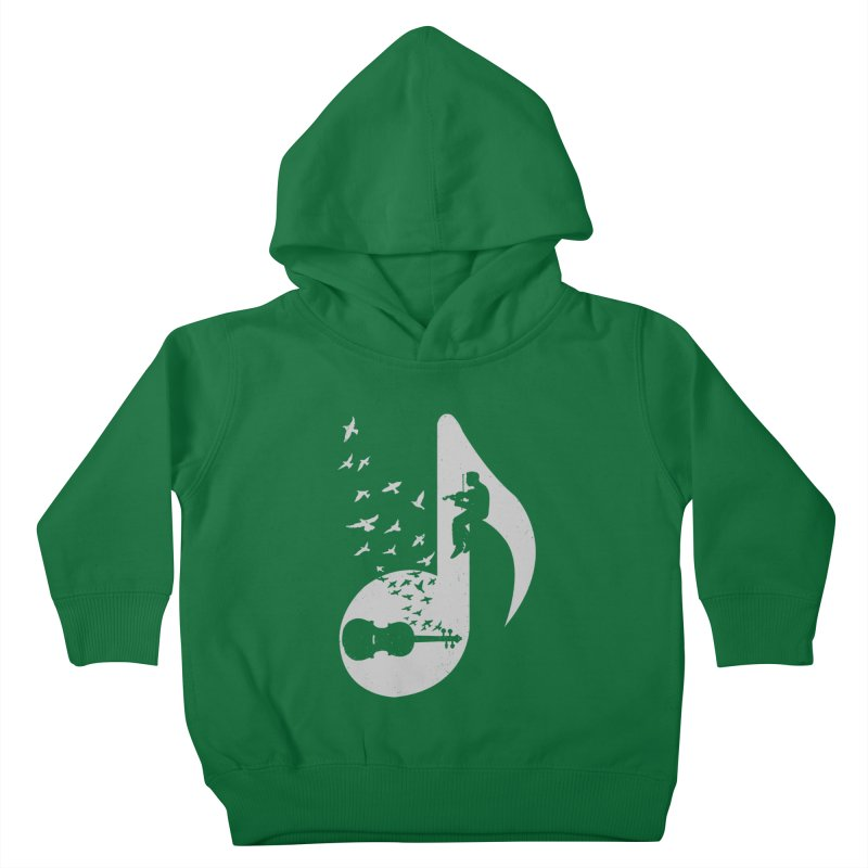 Musical note - Violin Kids Toddler Pullover Hoody by barmalisiRTB