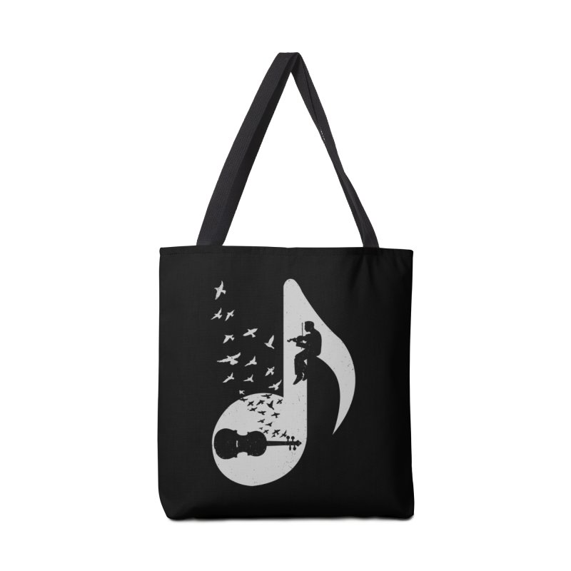 Musical note - Violin Accessories Bag by barmalisiRTB