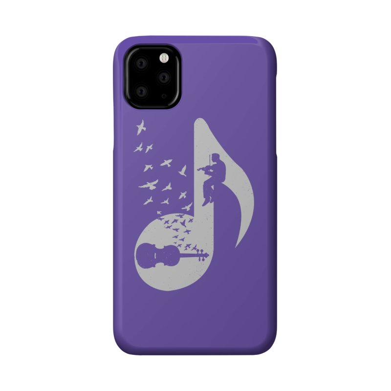 Musical note - Violin Accessories Phone Case by barmalisiRTB