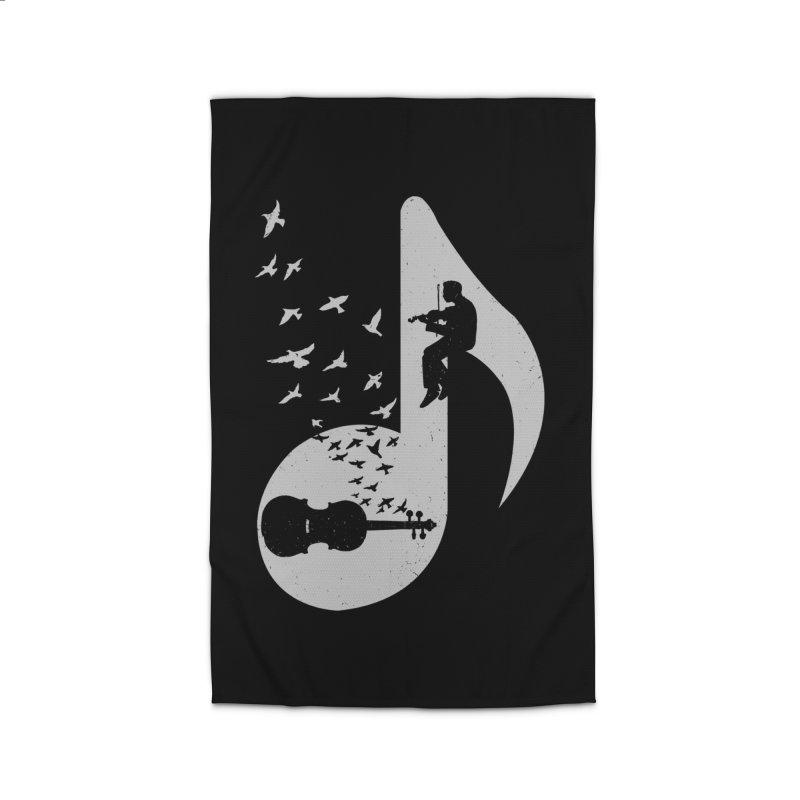 Musical note - Violin Home Rug by barmalisiRTB