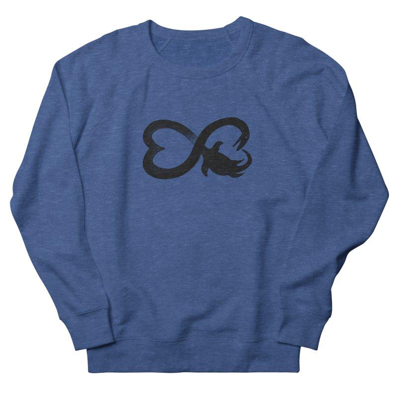 Elasmosaurus love Men's Sweatshirt by barmalisiRTB