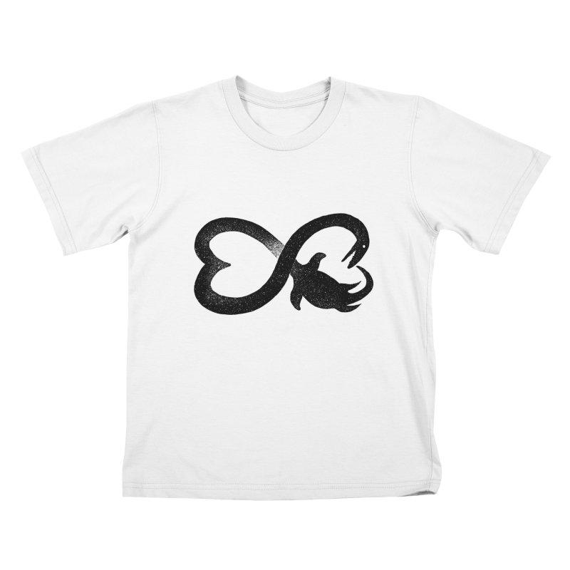Elasmosaurus love Kids T-Shirt by barmalisiRTB