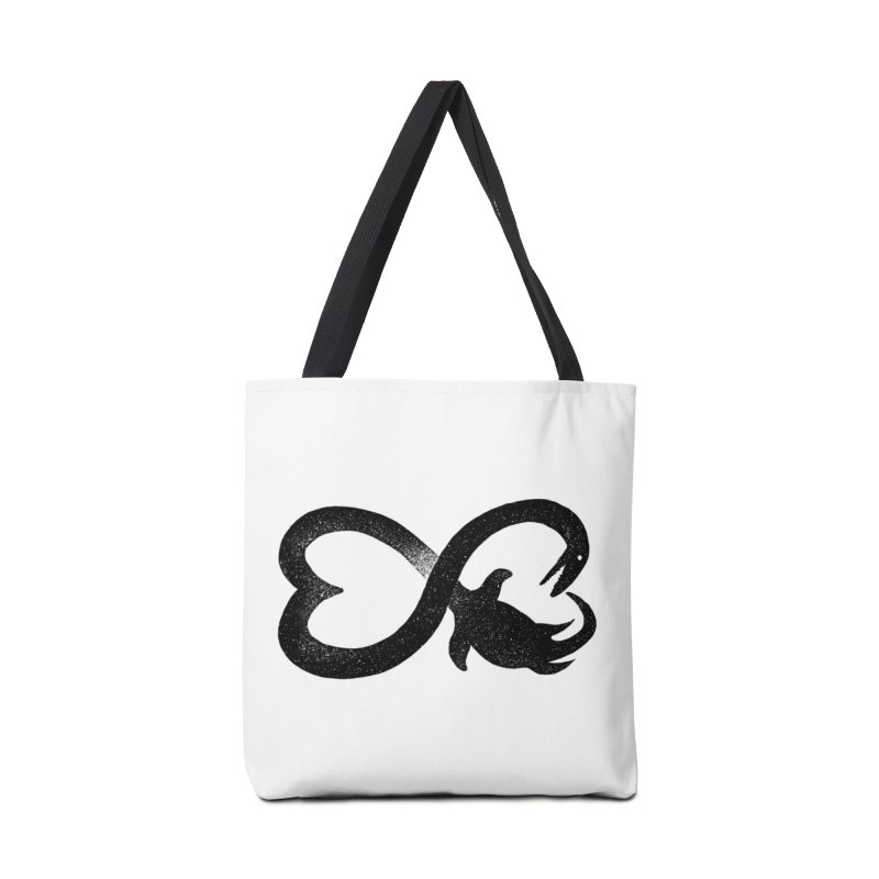 Elasmosaurus love Accessories Bag by barmalisiRTB