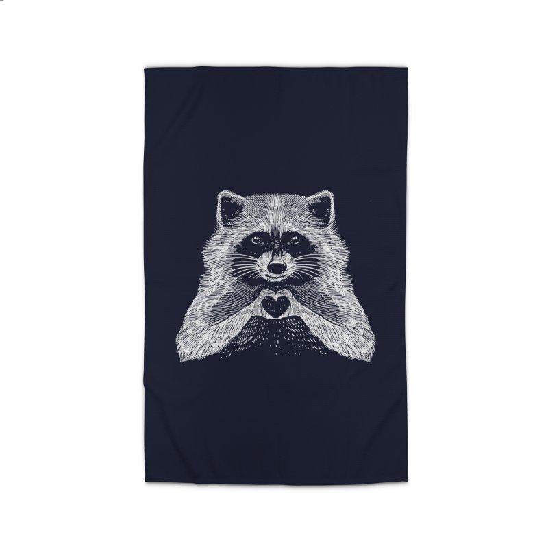 Love Raccoon Home Rug by barmalisiRTB