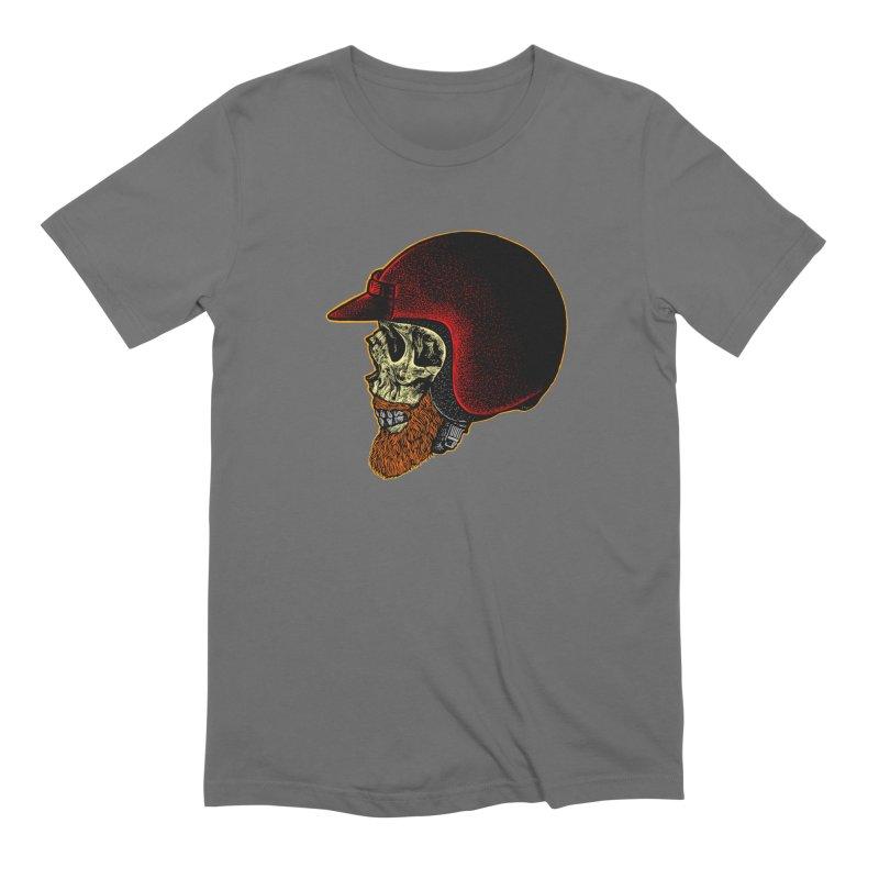 Mighty biker Men's Extra Soft T-Shirt by barmalisiRTB