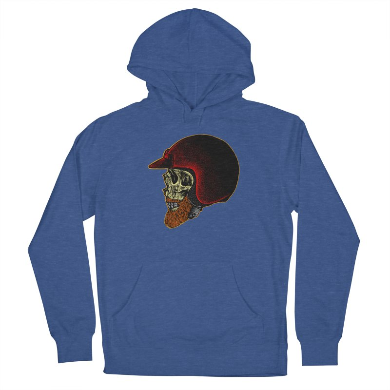 Mighty biker Women's French Terry Pullover Hoody by barmalisiRTB