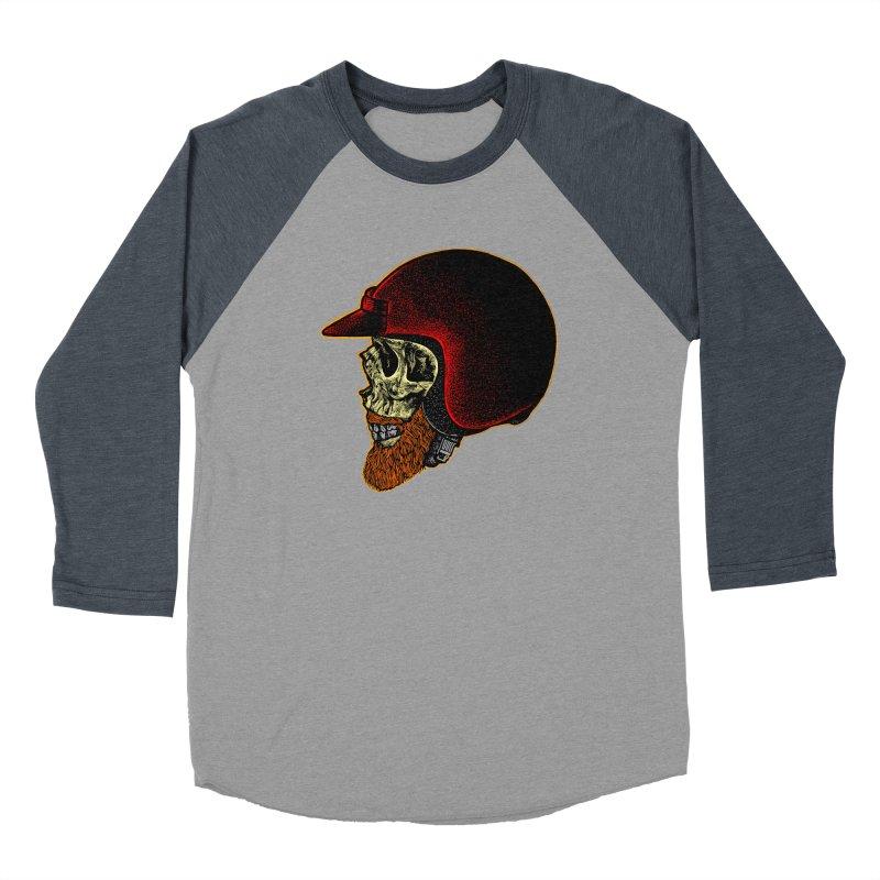 Mighty biker Men's Baseball Triblend Longsleeve T-Shirt by barmalisiRTB