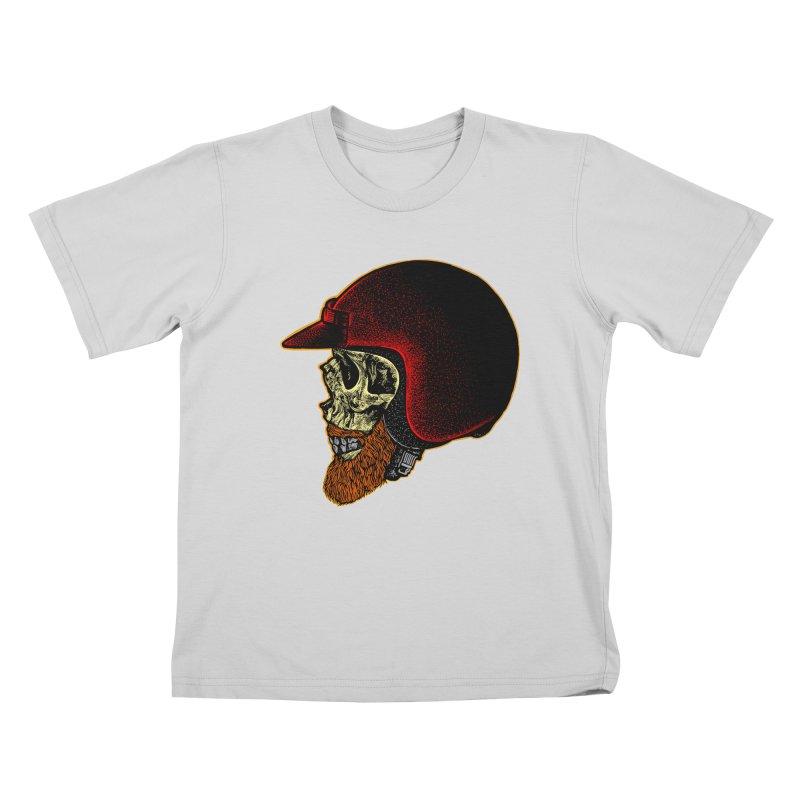 Mighty biker Kids T-Shirt by barmalisiRTB
