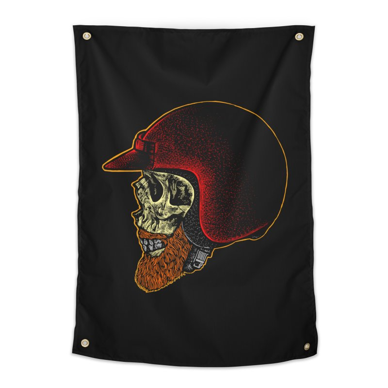 Mighty biker Home Tapestry by barmalisiRTB