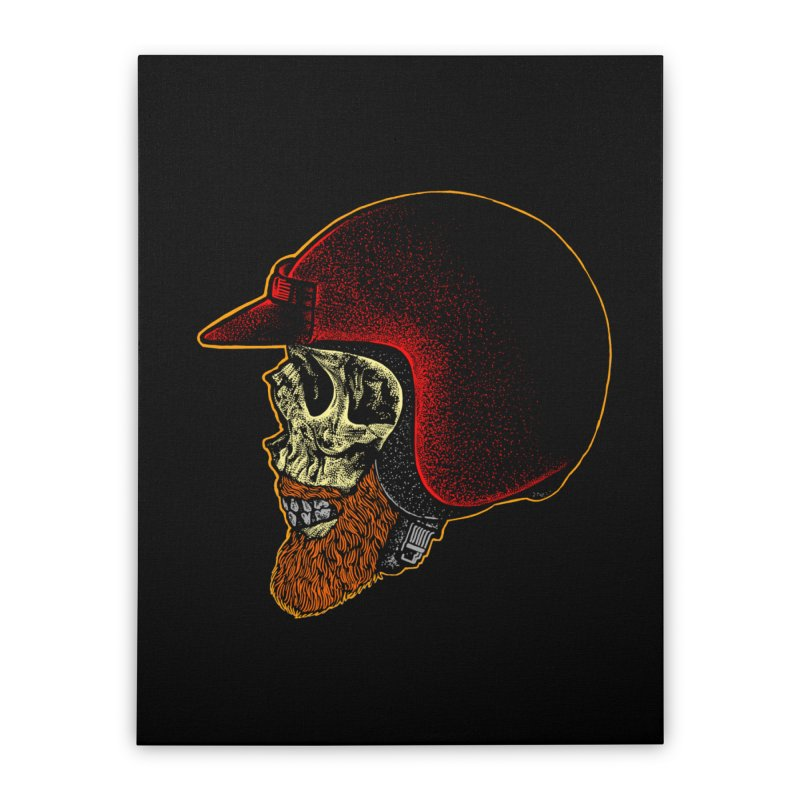 Mighty biker Home Stretched Canvas by barmalisiRTB