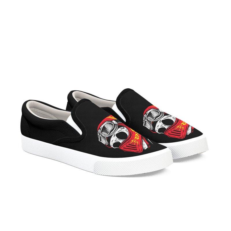 Ride Skull Men's Slip-On Shoes by barmalisiRTB