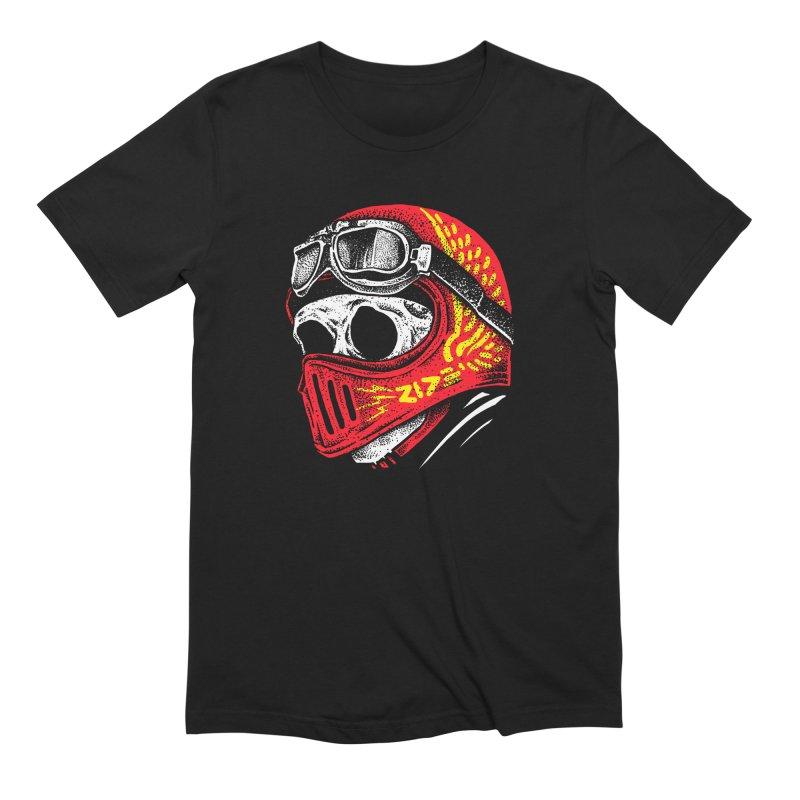 Ride Skull Men's Extra Soft T-Shirt by barmalisiRTB