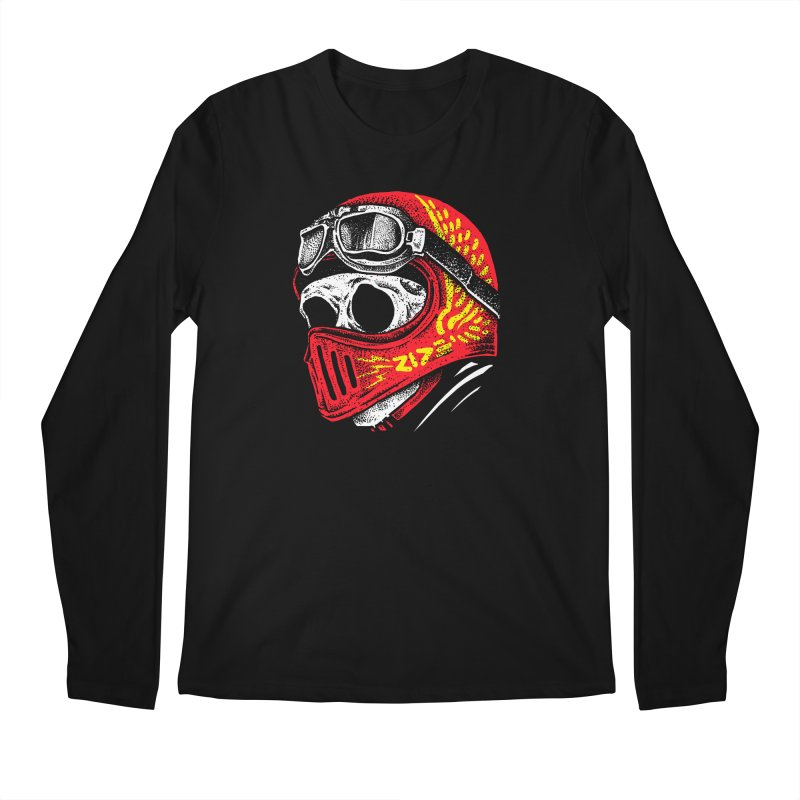 Ride Skull Men's Regular Longsleeve T-Shirt by barmalisiRTB