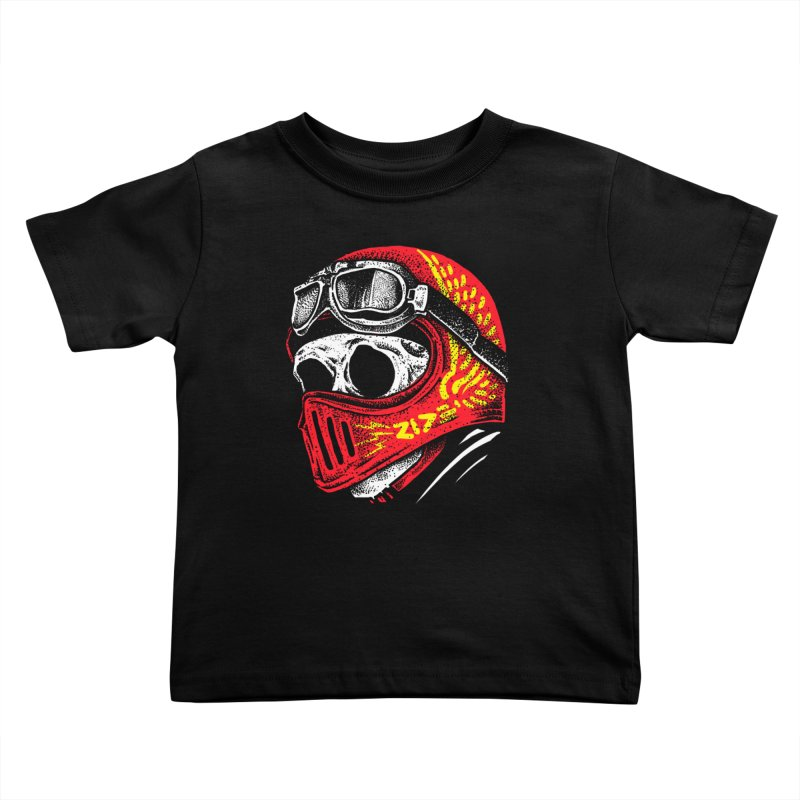 Ride Skull Kids Toddler T-Shirt by barmalisiRTB