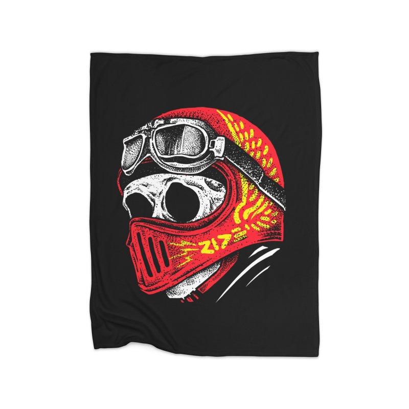 Ride Skull Home Blanket by barmalisiRTB