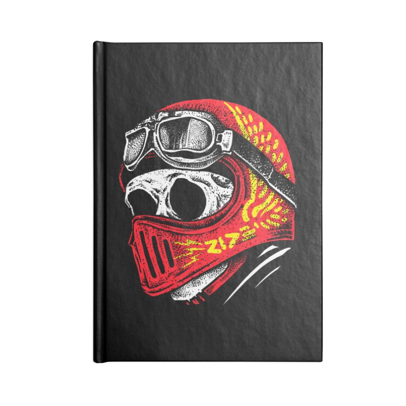 Ride Skull Accessories Notebook by barmalisiRTB
