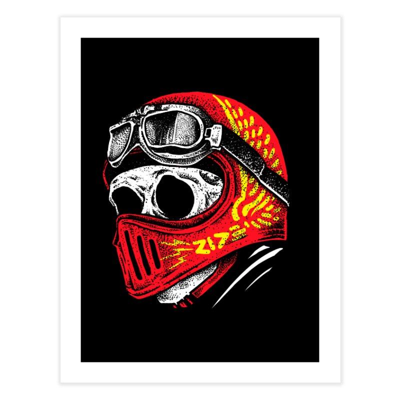 Ride Skull Home Fine Art Print by barmalisiRTB