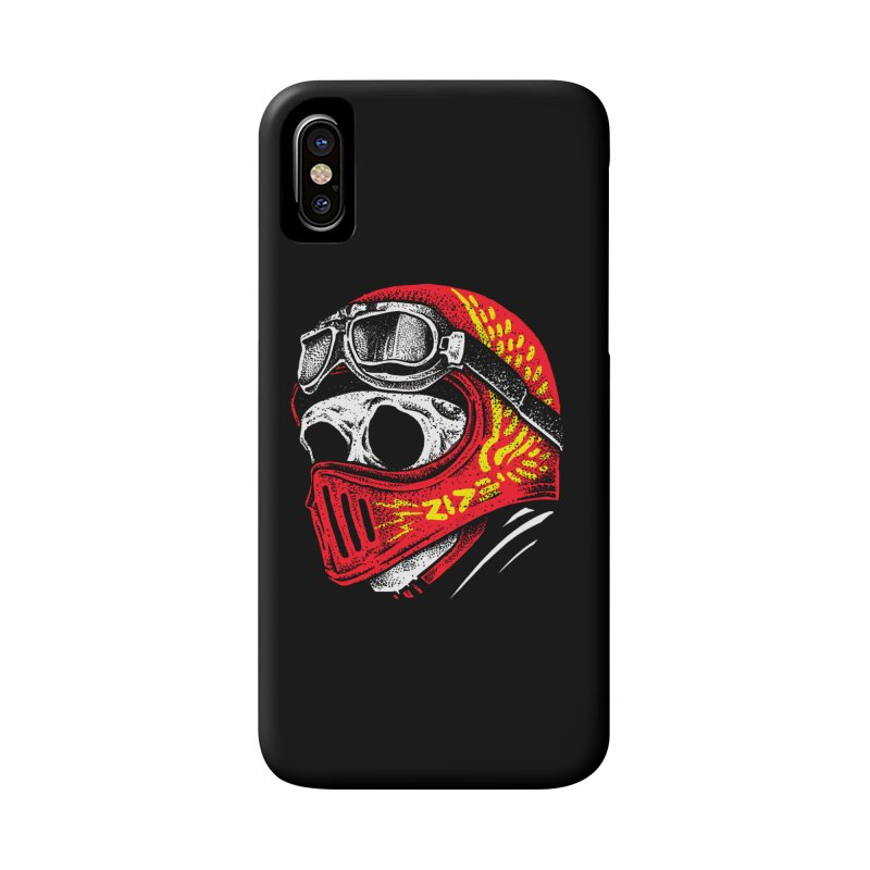 Ride Skull Accessories Phone Case by barmalisiRTB