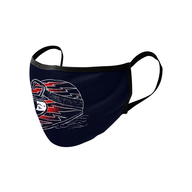 Thunder girl Accessories Face Mask by barmalisiRTB