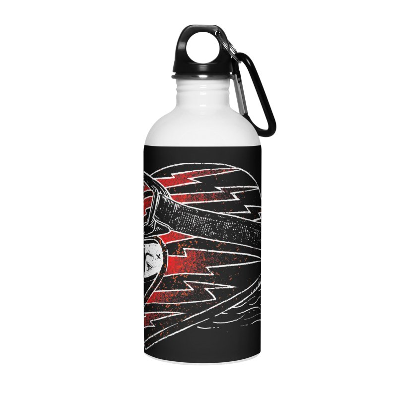 Thunder girl Accessories Water Bottle by barmalisiRTB