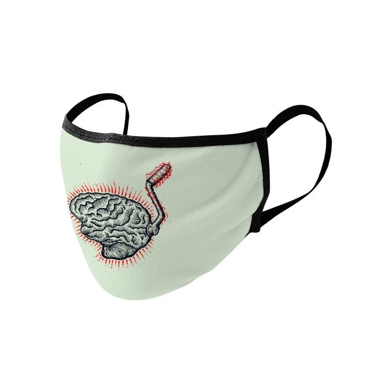 Brain Moto Accessories Face Mask by barmalisiRTB
