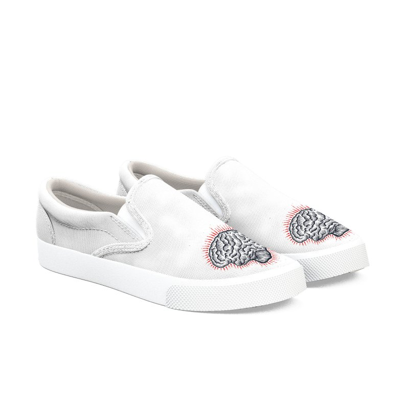 Brain Moto Women's Slip-On Shoes by barmalisiRTB