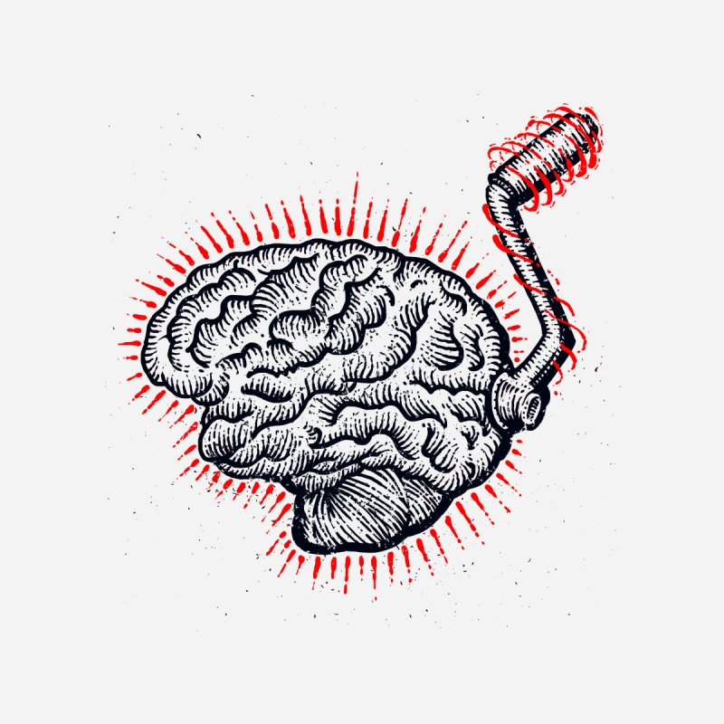 Brain Moto Accessories Sticker by barmalisiRTB