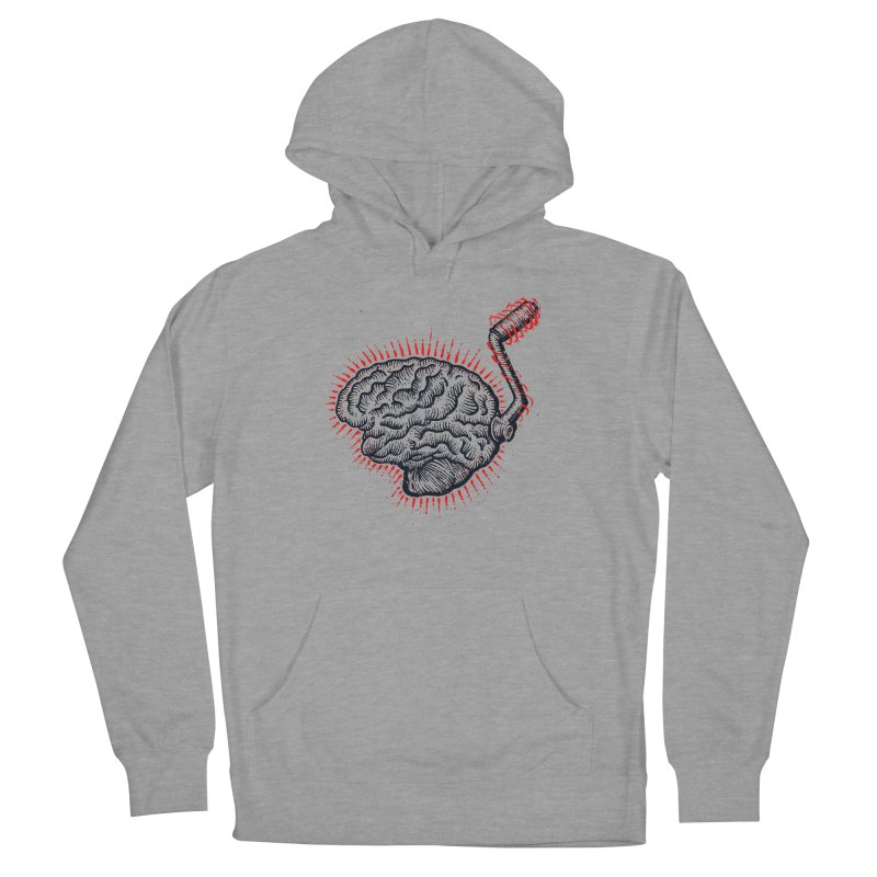 Brain Moto Women's French Terry Pullover Hoody by barmalisiRTB