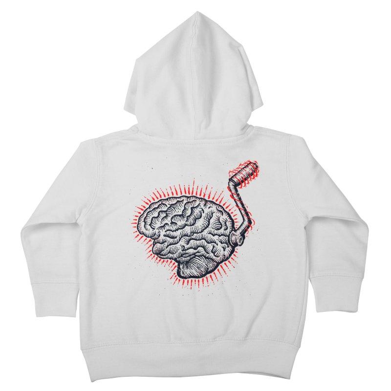 Brain Moto Kids Toddler Zip-Up Hoody by barmalisiRTB