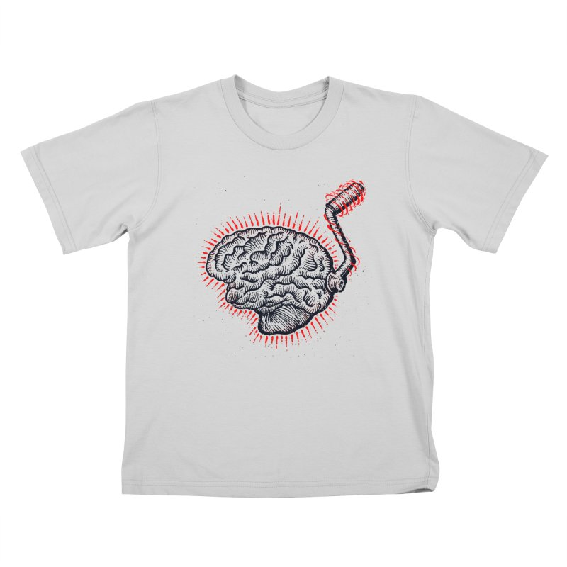 Brain Moto Kids T-Shirt by barmalisiRTB