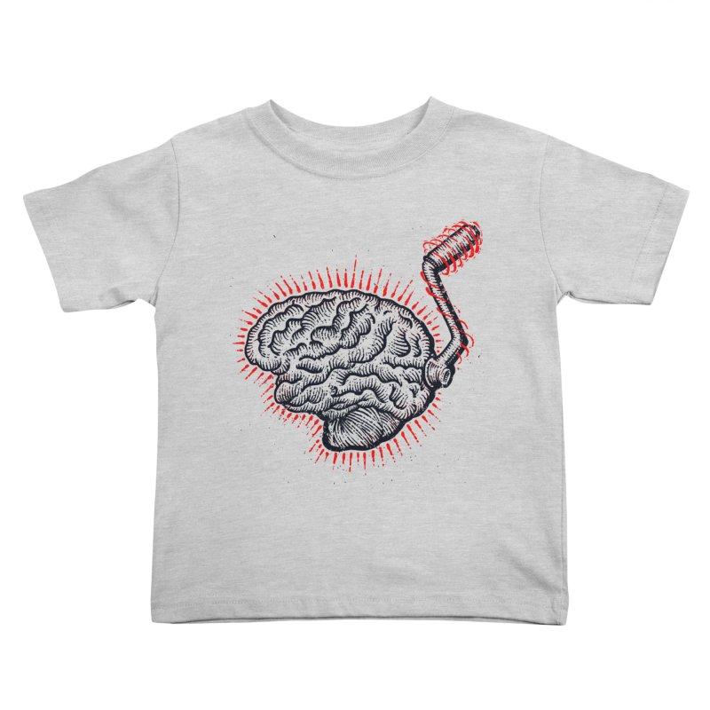 Brain Moto Kids Toddler T-Shirt by barmalisiRTB