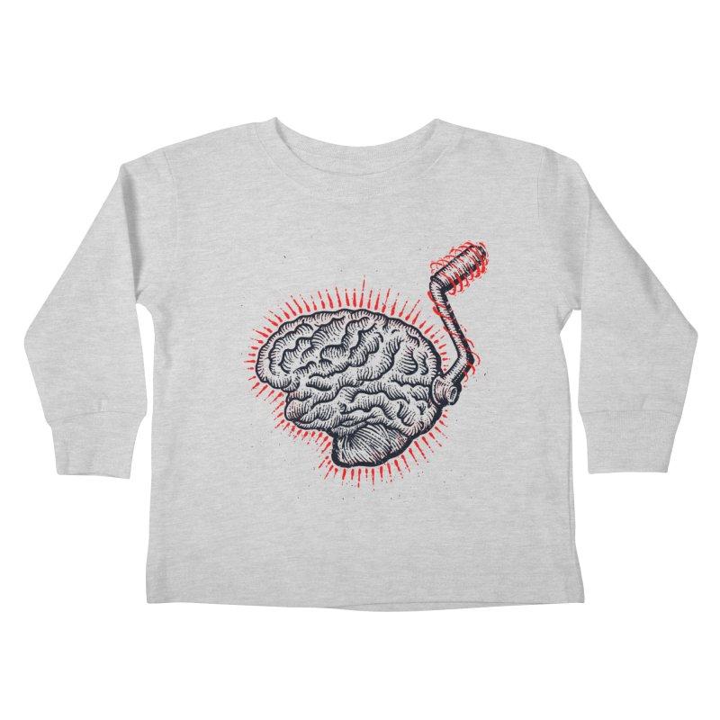Brain Moto Kids Toddler Longsleeve T-Shirt by barmalisiRTB