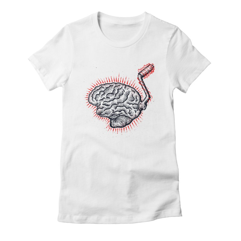 Brain Moto Women's T-Shirt by barmalisiRTB