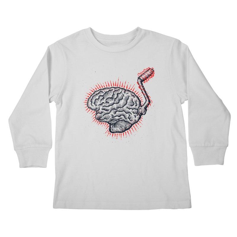 Brain Moto Kids Longsleeve T-Shirt by barmalisiRTB