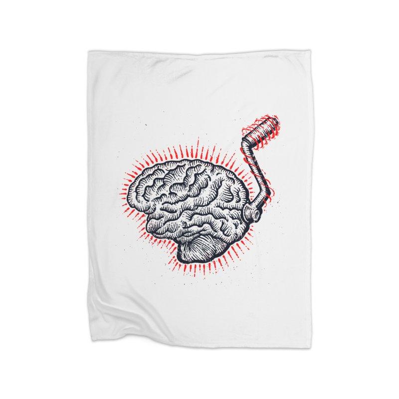 Brain Moto Home Blanket by barmalisiRTB