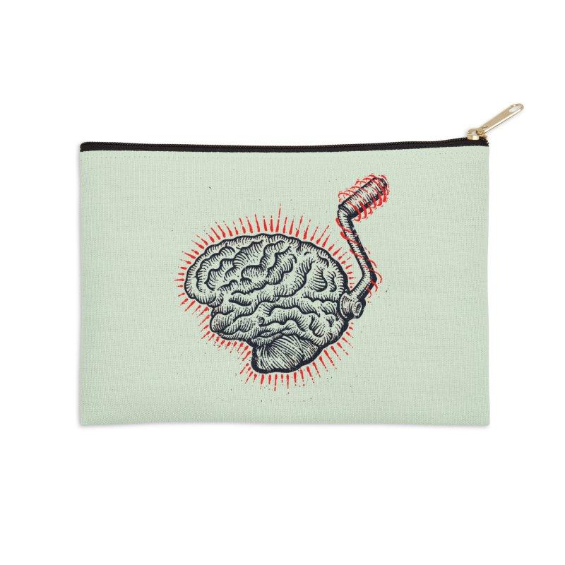 Brain Moto Accessories Zip Pouch by barmalisiRTB