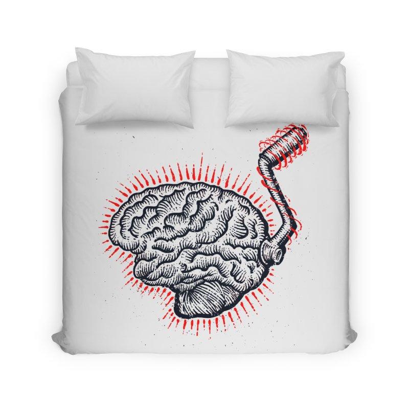 Brain Moto Home Duvet by barmalisiRTB