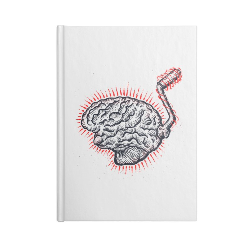 Brain Moto Accessories Notebook by barmalisiRTB