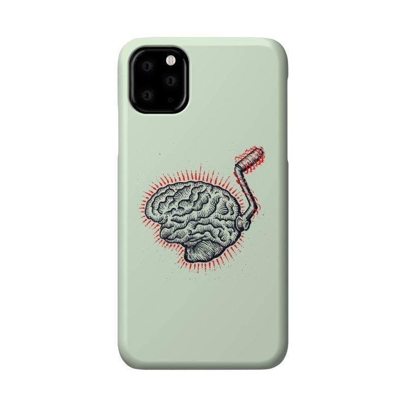 Brain Moto Accessories Phone Case by barmalisiRTB