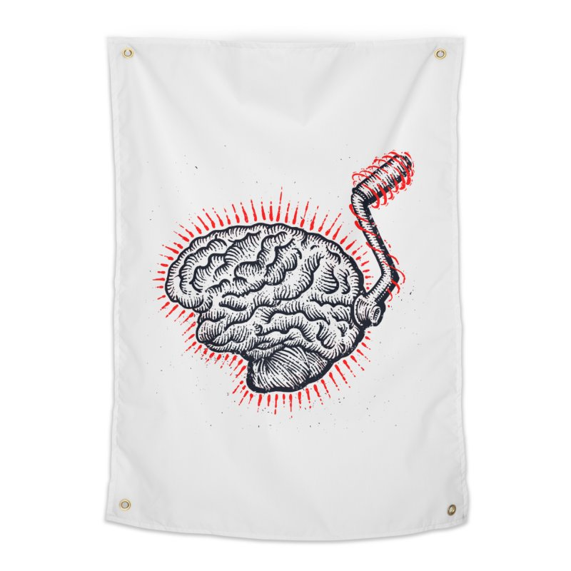Brain Moto Home Tapestry by barmalisiRTB