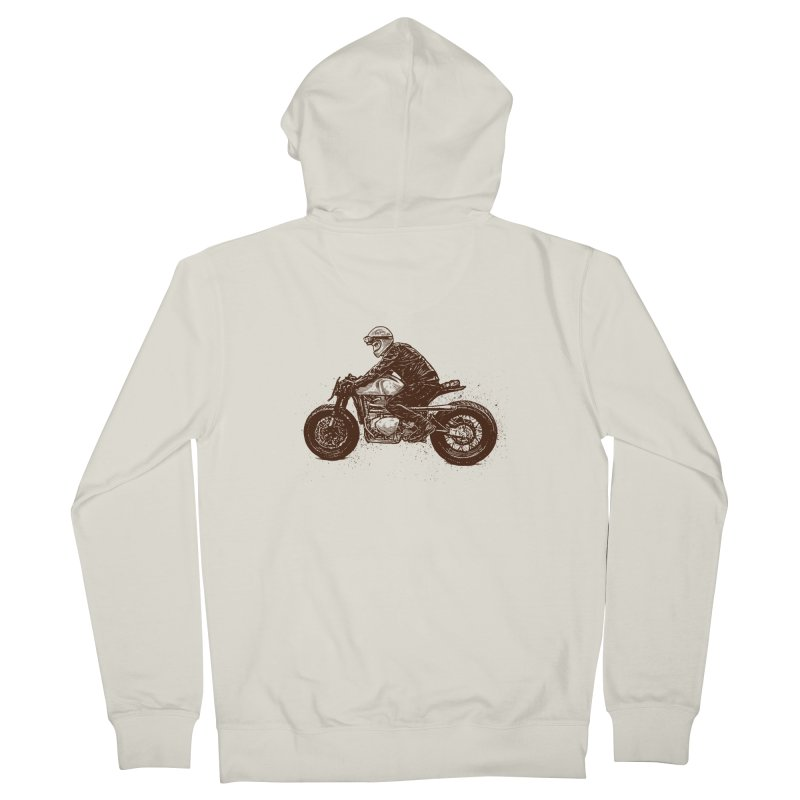 Ready for adventure Women's Zip-Up Hoody by barmalisiRTB
